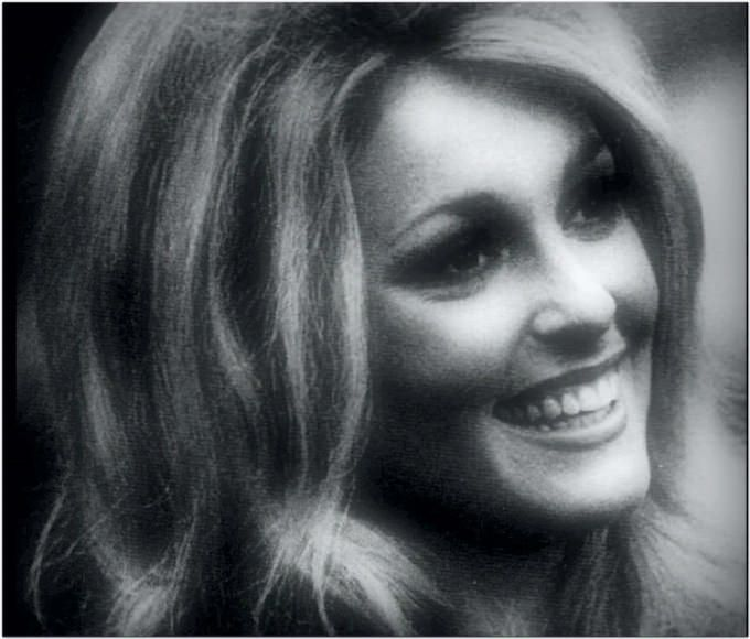 Sharon Tate,during filming of 'Eye of the Devil' (1966)