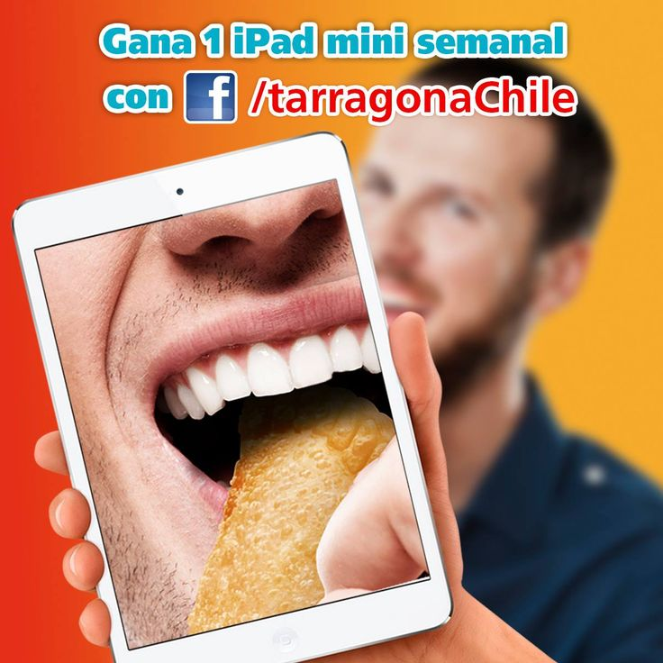 Envía tu selfi en Tarragona disfrutando tus Empanadas Premium y participa por un Mini Ipad semanal y una comida para 10 personas. Averigua como participar en el enlace http://bit.ly/1miYQHH
