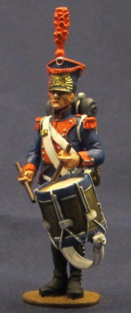 Tamburo di un rgt. di fanteria della legione del Nord del ducato di Varsavia