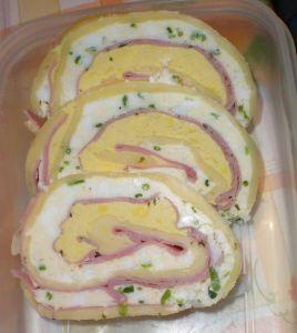 Húsvéti sajttekercs
