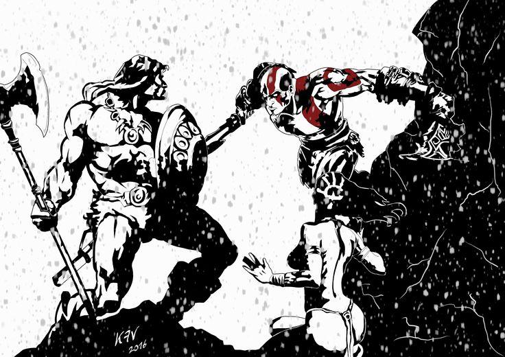 Conan vs Kratos WHO WINS!?!
