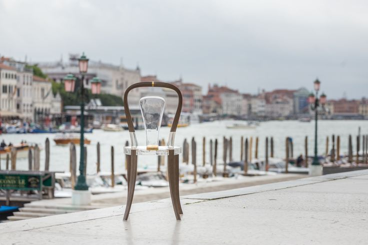 Design #1 in Venice. On display during the Venice Biennale 2017. The most innovative Bistro Chair every created. Find out why on revology.com