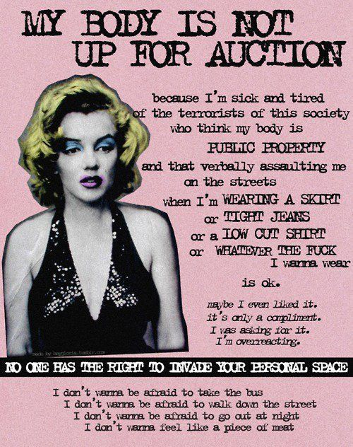 My Body is NOT Up for Auction