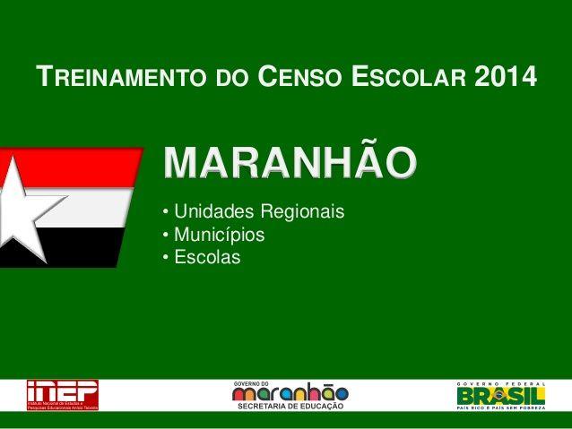 Treinamento Censo Escolar 2014- Mais Educacao e PROEMI by Walter Alencar via slideshare