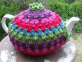 Crochet teapot cosy from 'Crochet with Raymond' blog