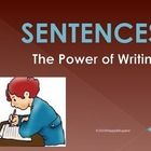 Sentences: Writing Correct Sentences PowerPoint by HappyEdugator | Teachers Pay Teachers
