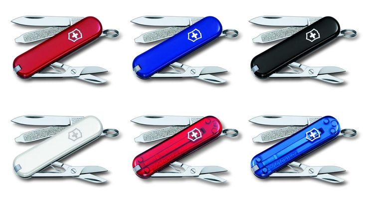 Victorinox Classic SD Swiss Army Pocket Tool - Red