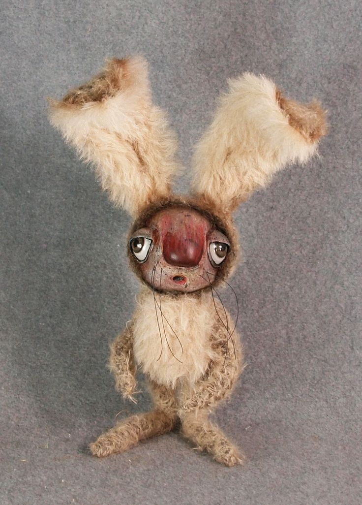 Rabbit Fine Art Doll, 12""