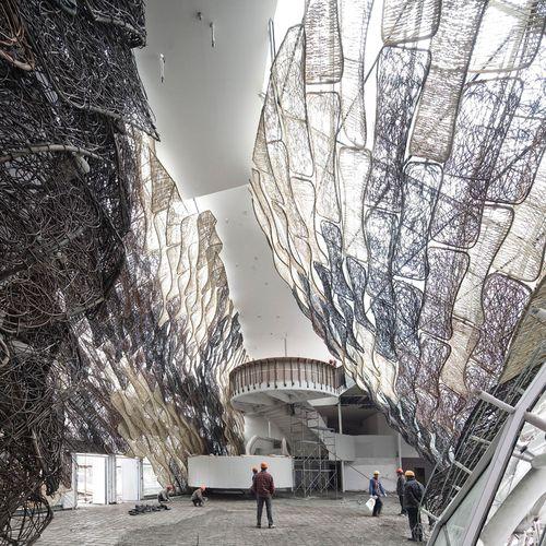 Spanish Pavilion for Shanghai World Expo 2010  Miralles Tagliabue EMBT