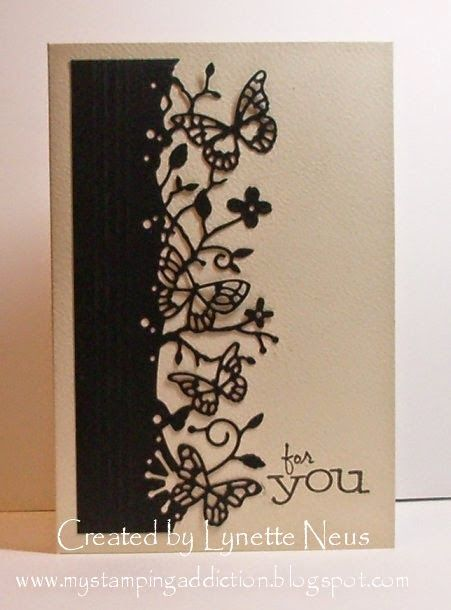 My Stamping Addiction: Butterflies For You