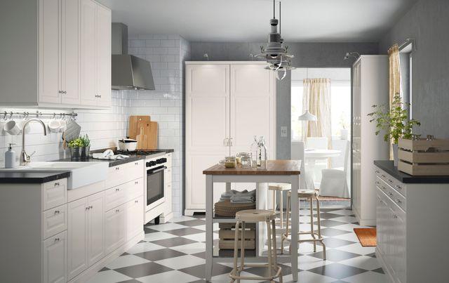 17 meilleures id es propos de cuisines blanc cass sur pinterest placards - Cuisine a prix casse ...