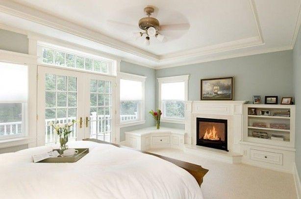 25 beste idee n over romantische slaapkamer kleuren op - Glanzende wandfarbe ...