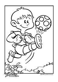 kleuter mandala voetbal tekenen voetbal voetbal knutselen