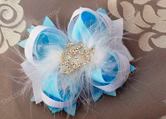 Hey, I found this really awesome Etsy listing at http://www.etsy.com/listing/108229782/cinderella-hairbow-disney-princess