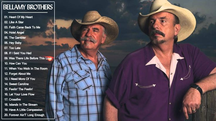 Bellamy Brothers Greatest Hits || Bellamy Brothers Best Songs (Full Album)