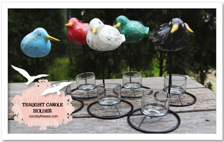 Animals - COCO BY THE SEA #seabirds #tealightcandleholder #cocobythesea #decorations #homedecor #homeaccessories #coastalliving #coastal #beachliving #islandliving #gifts #newarrivals