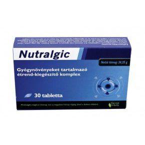 A Santé Verte Nutralgic tabletta növényi hatóanyagaival gyorsan és hatékonyan csökkenti az akut vagy krónikus fájdalmat és gyulladást a szervezet számos területén.
