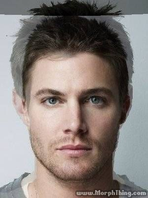 Jensen Ackles and Stephen Amell morph