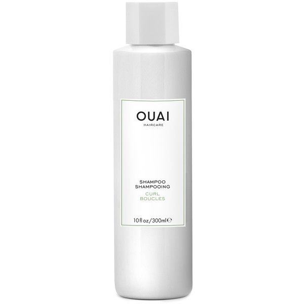 OUAI Curl Shampoo 300ml (280 MAD) ❤ liked on Polyvore featuring beauty products, haircare and hair shampoo
