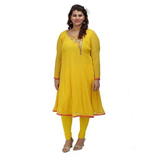 Damyantii Yellow Georgette 3/4 Sleeve Anarkali casual XXL... http://www.amazon.in/dp/B01G5987JA/ref=cm_sw_r_pi_dp_x_KRCQxb10MJ3XH