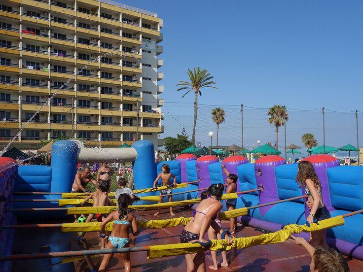 #futbolin #hotel #animacion #juegos #niños #vacaciones #ocio #diversión #amigos #animation #sports #playa #piscina #holidays #futbol