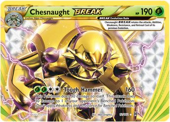 Chesnaught BREAK -- BREAKthrough Pokemon Card Review | Primetime ...
