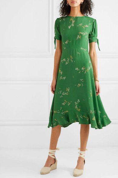 9024cd55b56f Faithfull The Brand   Emilia ruffled floral-print crepe midi dress    NET-A-PORTER.COM