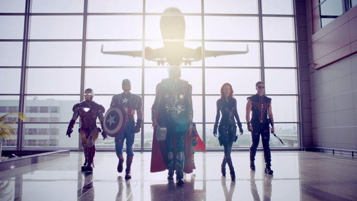 Pegasus'la Süper Kahraman Gibi Uç! – Süper Kahramanlarla Güvenlik Videosu... Pegasus Airlines joins forces with Marvel Super Heroes for its new safety video