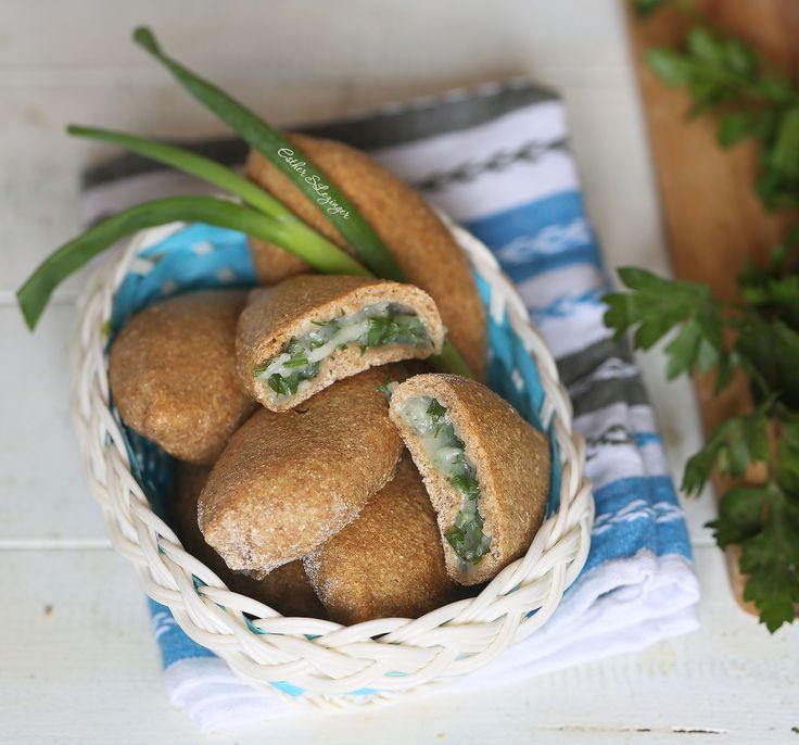 Диетические пирожки с картошкой и зеленью   Рецепты правильного питания - Эстер Слезингер