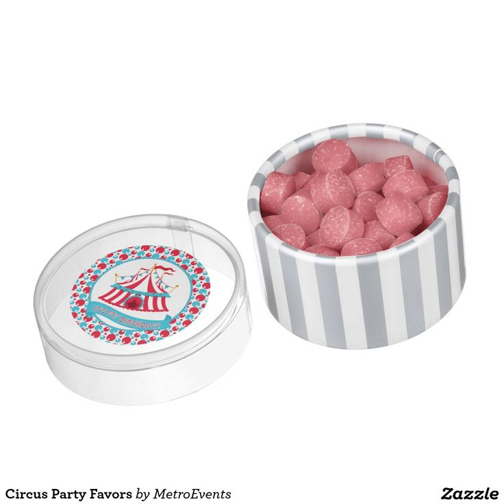 Circus Party Favors Gum
