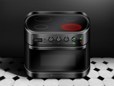 Hotpoint Cooker Icon