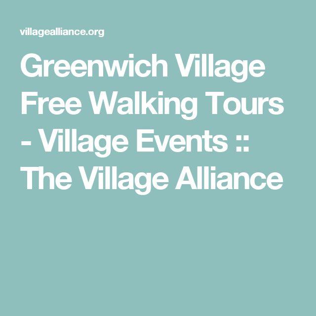Village Alliance Free Walking Tours