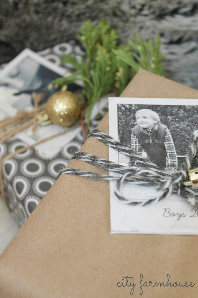 Christmas Ideas- DIY Polaroid's. Perfect for wrapping, ornaments & place cards