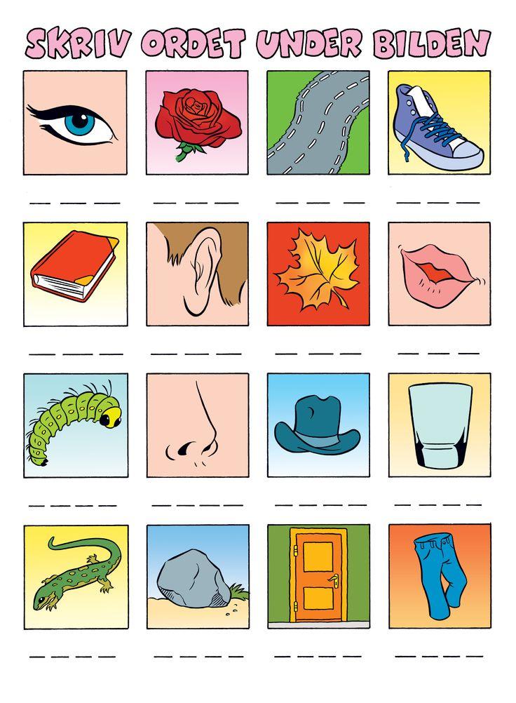 Alfabetet – Bamse.se