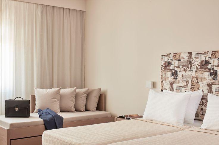 A business traveller deserves best accommodation!   #EspritAthens #executiveroom #business #traveler