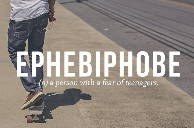 28 Very Specific Phobias You Might Have