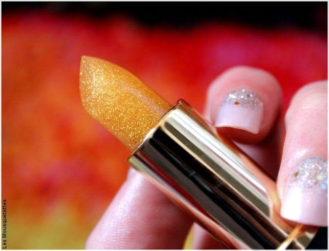 Le baume à lèvres Gold Diamond à acide hyaluronique de Incarose - Blog beauté