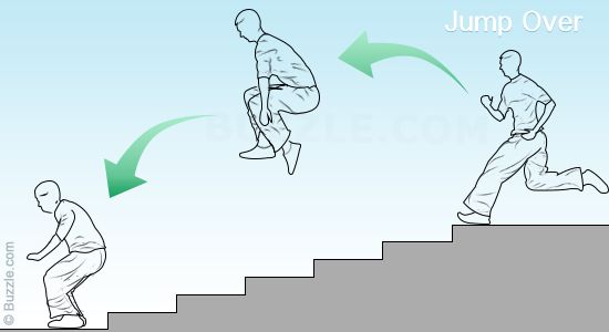 Parkour workout and simple explanation and terminology. So want to try this.