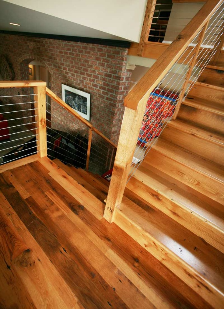 Barn Board Oak Stair Treads Stair Parts Pinterest