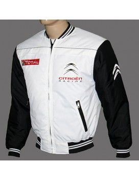 Citroen Black & White High Quality Jacket With embroidered logos http://autofanstore.com