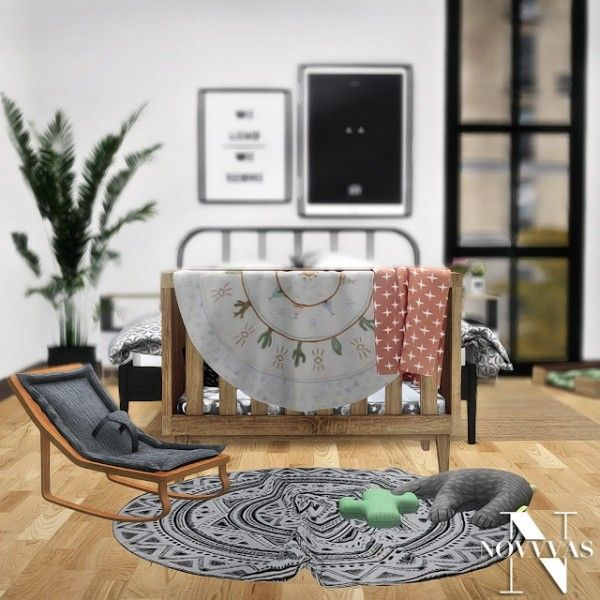 Novvas Kalehouse Scandi Baby Stuff Sims 4 Downloads