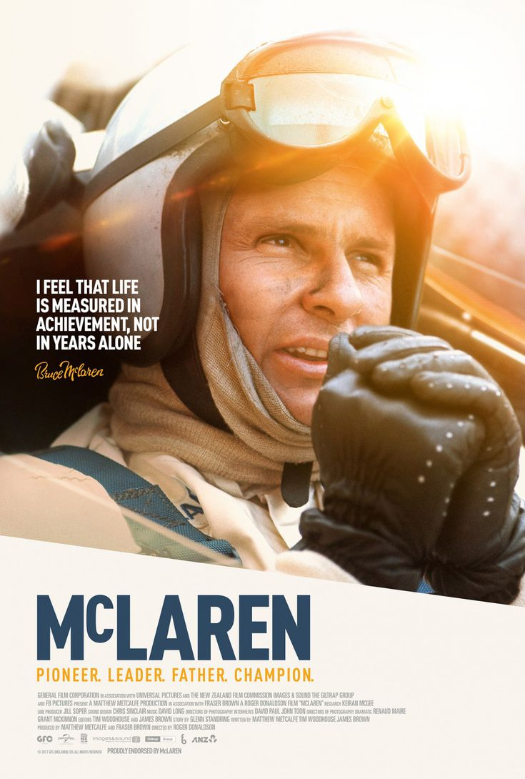 Petrol heads will love MCLAREN and those that aren't into racing should still check it out, there is plenty to enjoy in this well-crafted tale of a Kiwi named Bruce who changed the world.  Special screenings coming up at oodles of cinemas in Australia. http://saltypopcorn.com.au/mclaren-review/