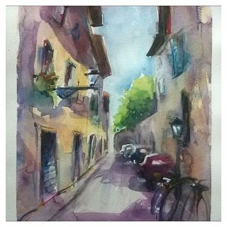 PAINTING IN TUSCANY: RECENT WC