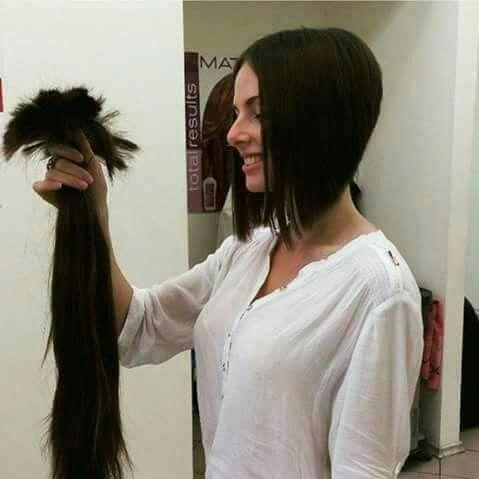 51 Best Long Cut Off Images On Pinterest Long Hair Long