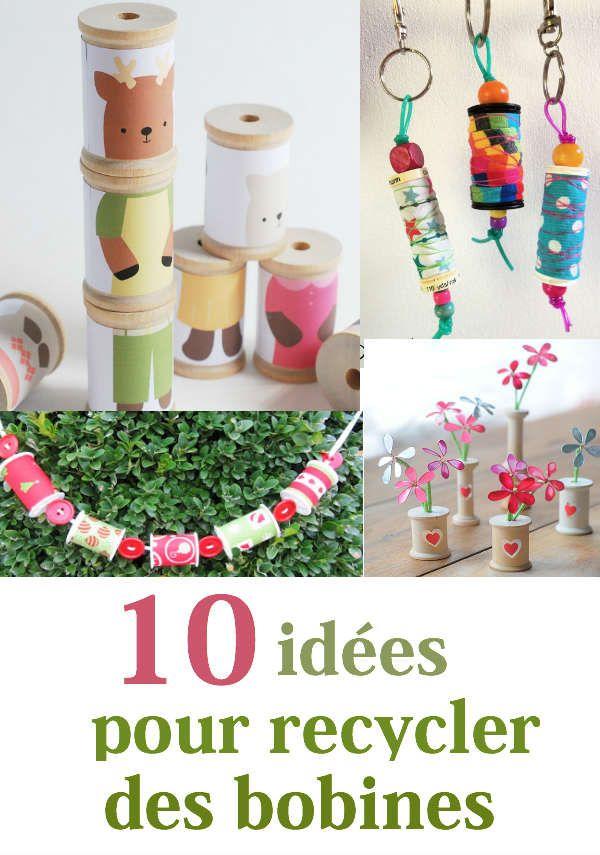 10 idées pour recycler des bobines de fil vides « Blog de Petit Citron