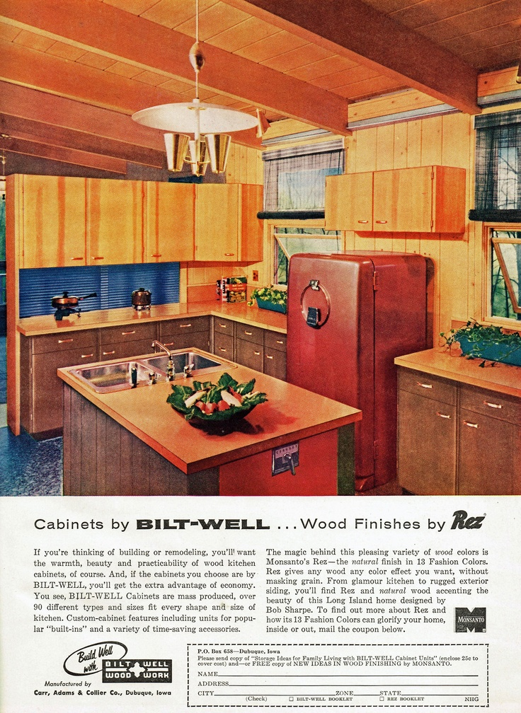 Bilt Well Cabinets 1956 Kitchen A Retro Renovation