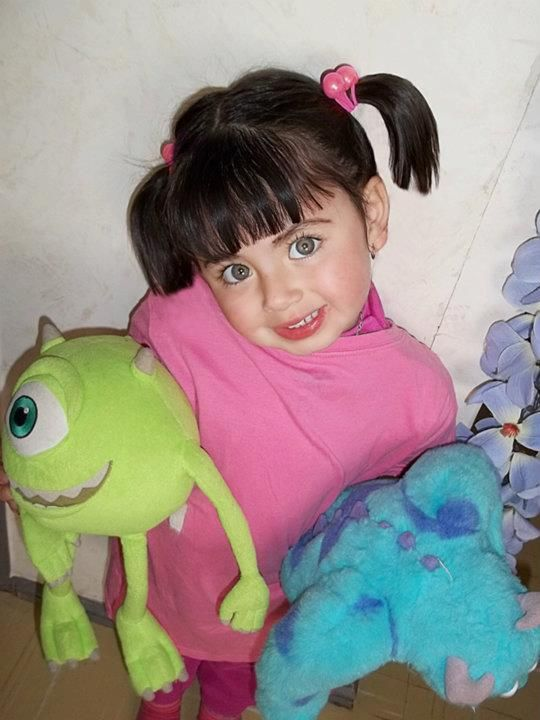 Monsters Inc: Boo cosplay  View more EPIC cosplay at http://pinterest.com/SuburbanFandom/cosplay/