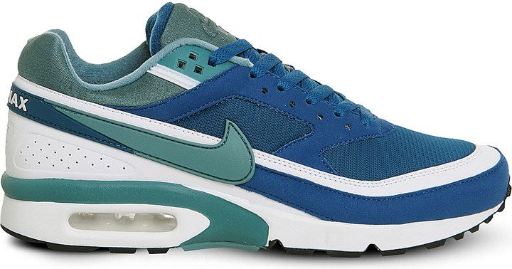 NIKE Air Max BW panelled mesh trainers