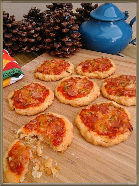 Βουτυρόμελο: Πιτσο-μπισκότα με κρασί..