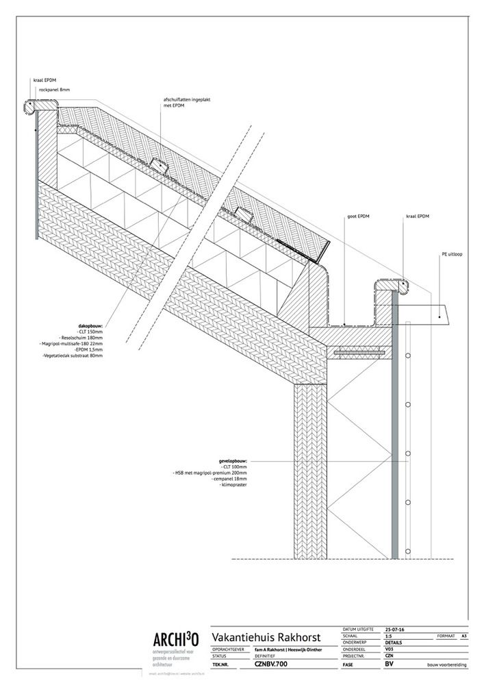 Gallery of House Duurzaamheid / Archi3o - 28